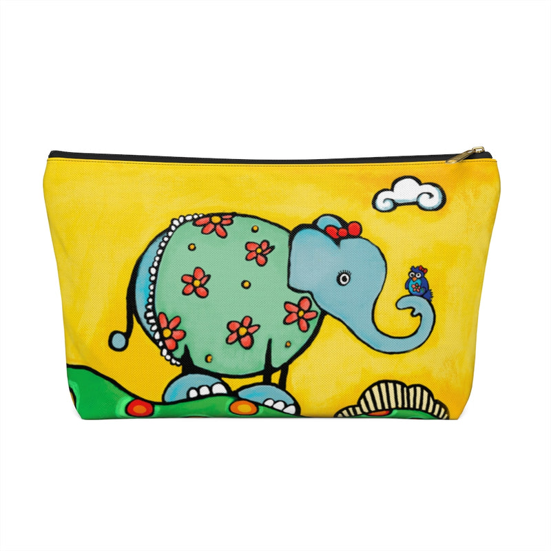 Elephant from Be Who You Are Book Accessory Pouch w T-bottom