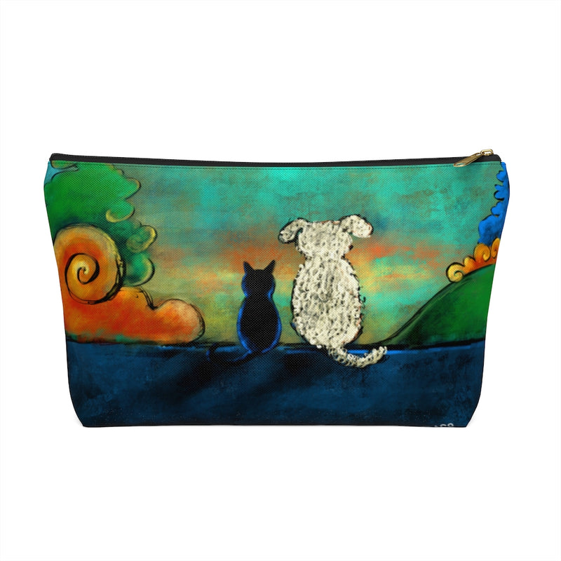Friendship Dog and Cat Accessory Pouch w T-bottom