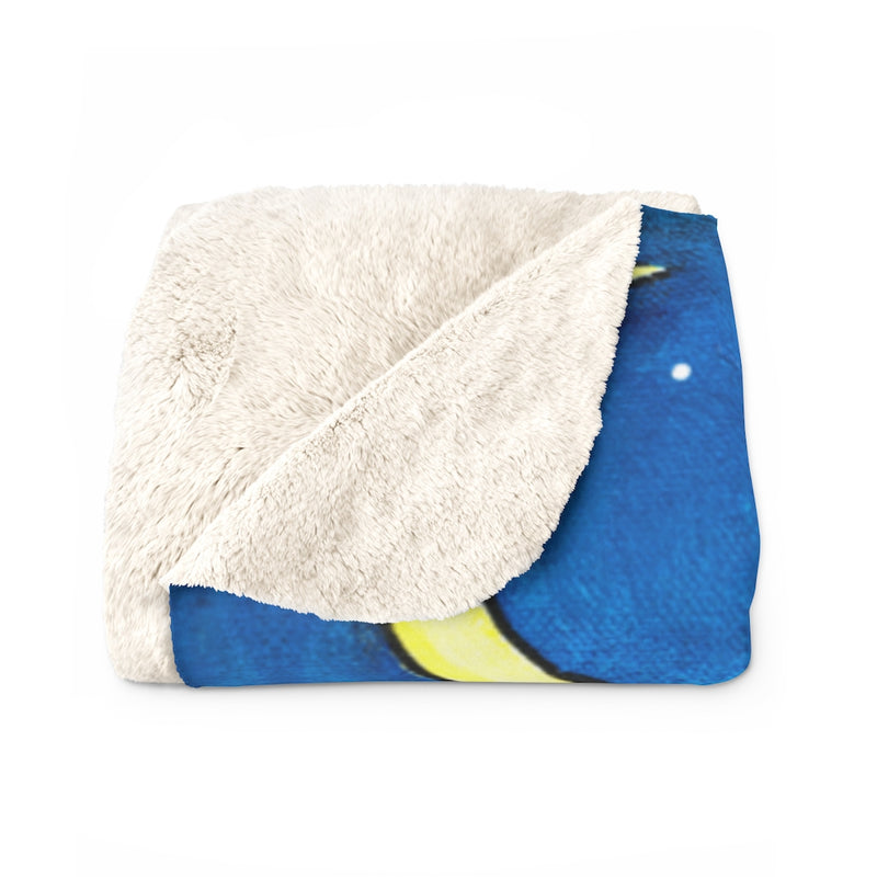 Bedtime Sherpa Fleece Blanket