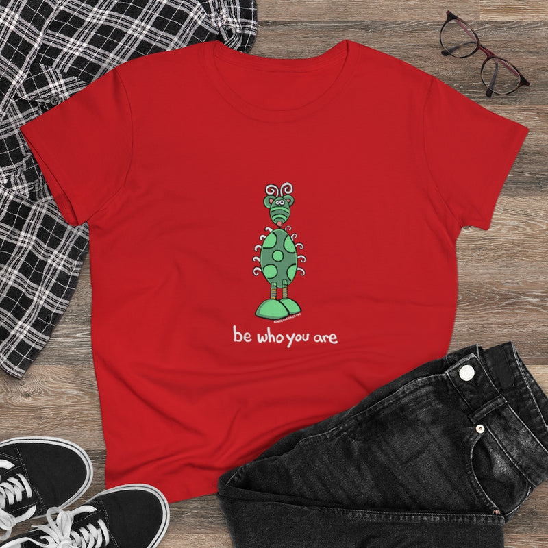 Be Who You Are Womens Tee