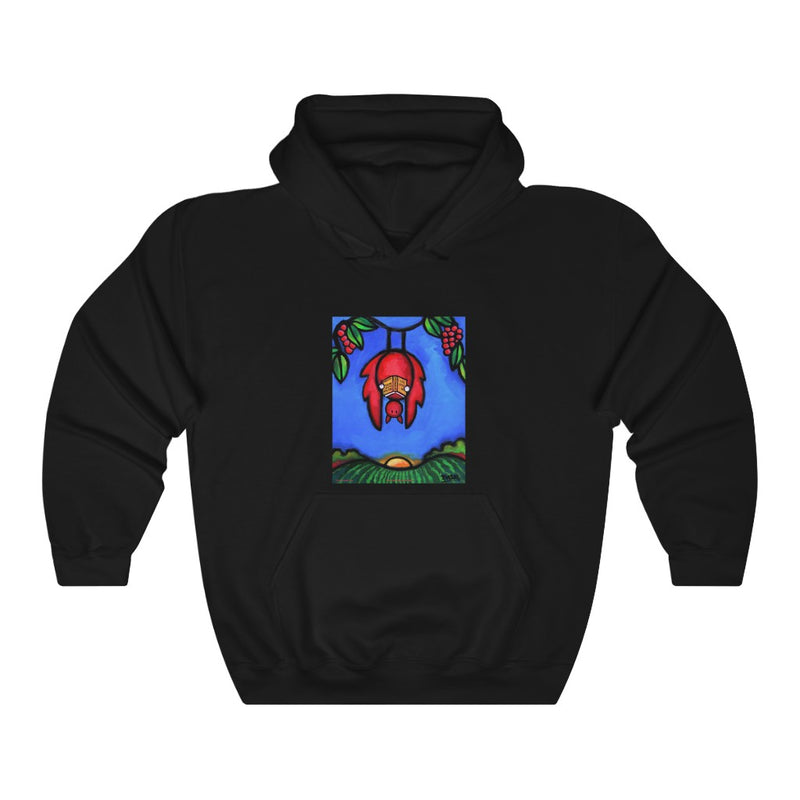 BAT Unisex Hooded Sweatshirt