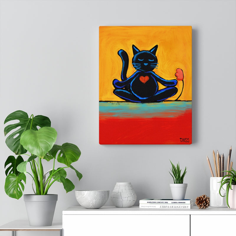 Cat Zen Canvas Gallery Wraps
