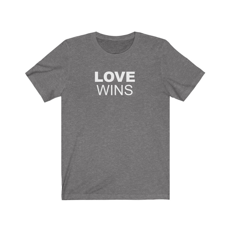 LOVE WINS Unisex T-Shirt
