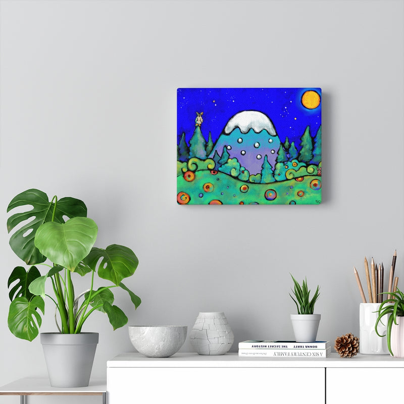 The Mountains Are Calling and I Must Go (John Muir Quote) Canvas Gallery Wraps