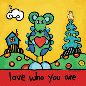 Love Who You Are Sticker