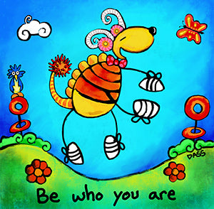 Be Who You Are Sticker