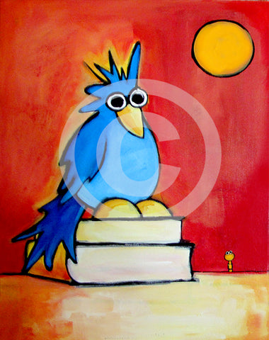 Bookworms Unite! - Colorful Animal, Aviation, whimsical, Airstream, Quotes Art Kids, Pediatrics, Happy Art