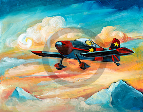 Flying Dreams RV6 Original SOLD Prints available