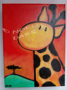 Daily Painting #6 Giraffe SOLD
