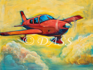 Piper Cherokee Original SOLD Prints Available