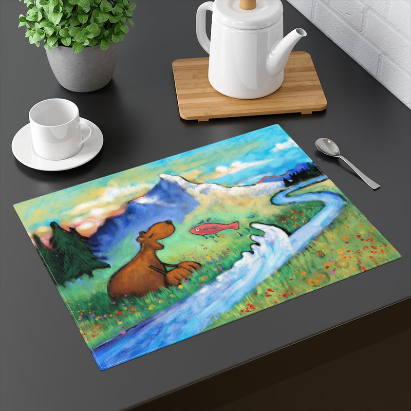 Bear and Fish Placemat