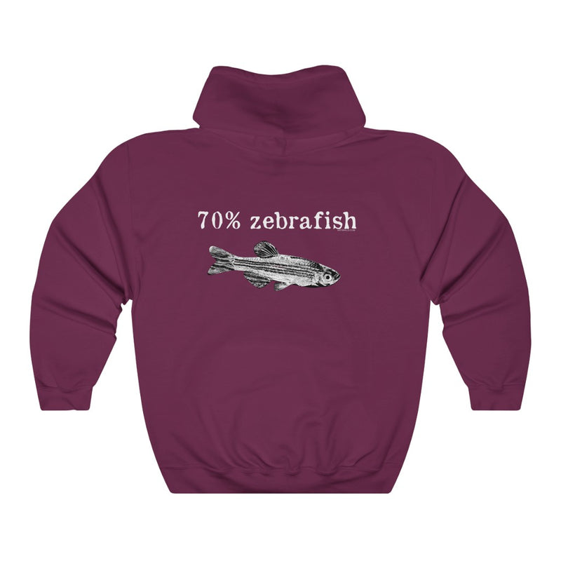 70% Zebrafish Hooded Sweatshirt