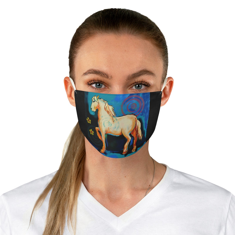 Horse Fabric Face Mask
