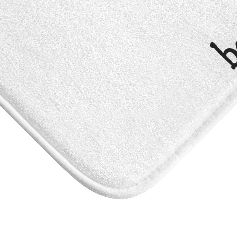 Be Beautiful Plush Bath Mat