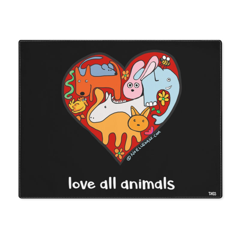 Love All Animals Placemat
