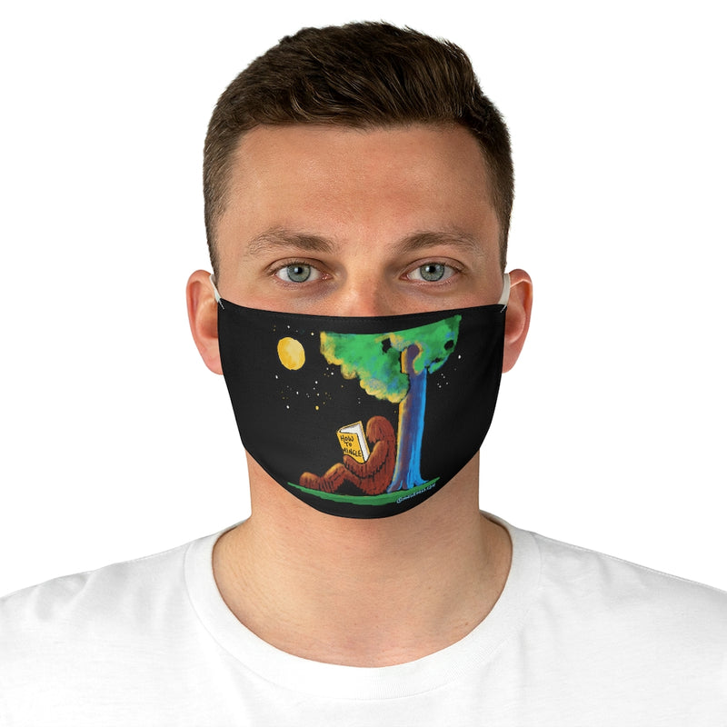 Bigfoot How to Mingle Fabric Face Mask