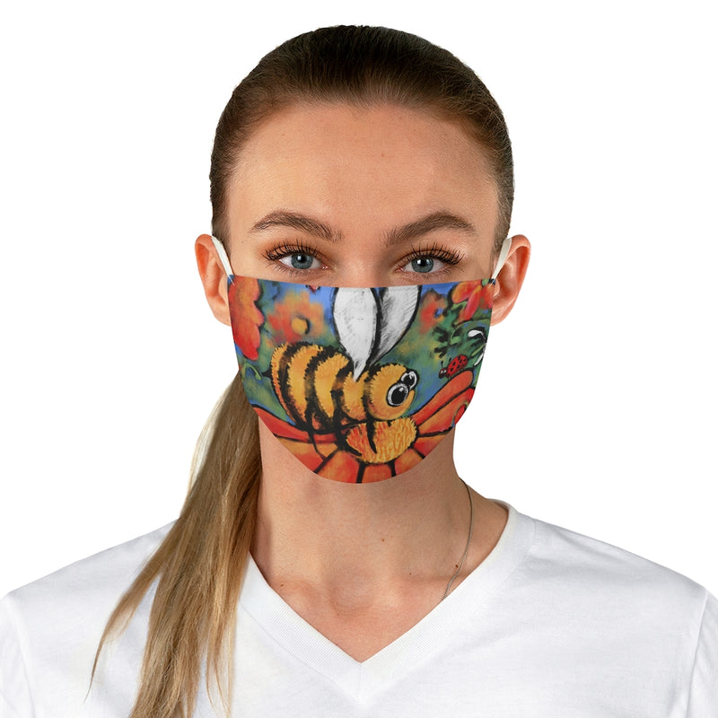 Bee Fabric Face Mask