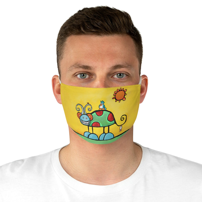 Snarleywink from Be Who You Are Book Fabric Face Mask