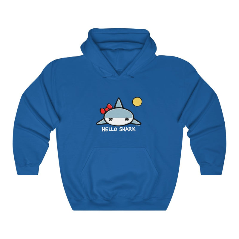 Hello Shark Unisex Hooded Sweatshirt