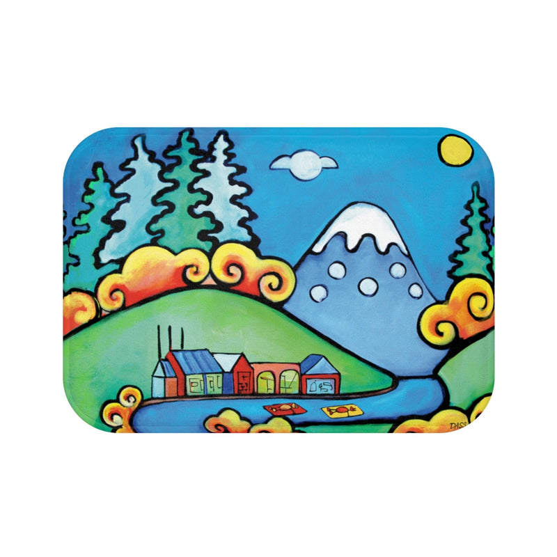 Oregon Dreams Plush Bath Mat