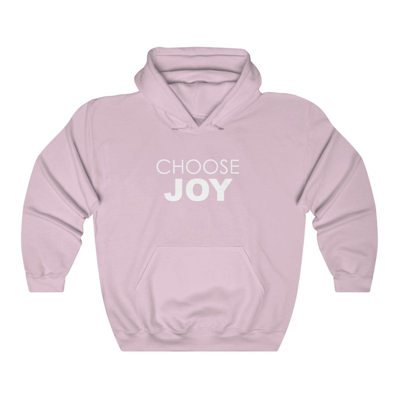 CHOOSE JOY Unisex Hooded Sweatshirt
