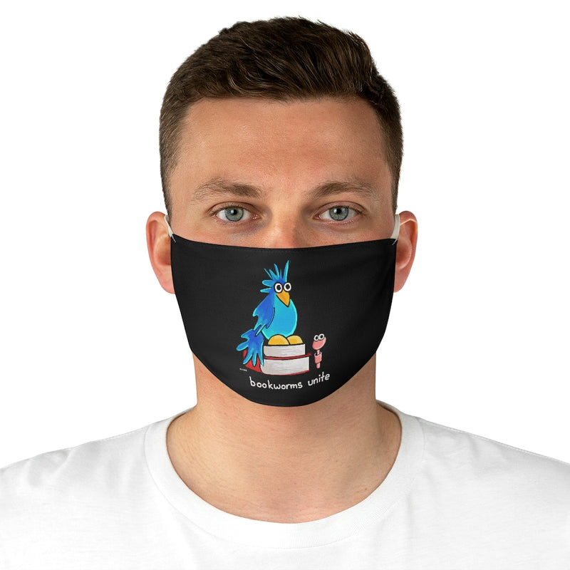 Bookworms Unite Fabric Face Mask