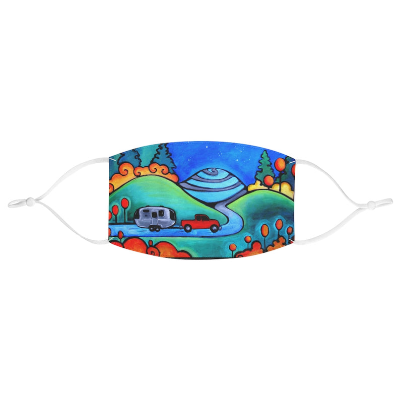 Camping Airstream RV Fabric Face Mask
