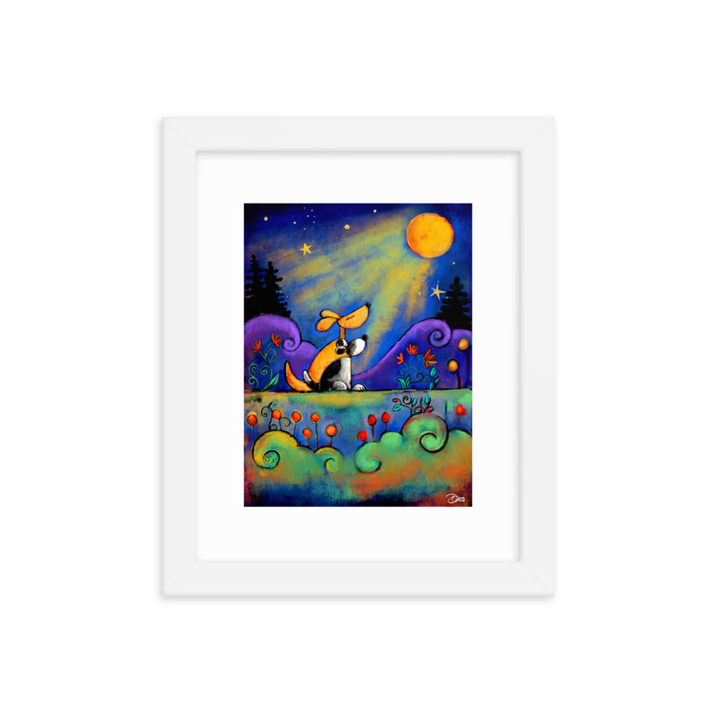 No Place I Would Rather Be Than Here With You Framed Art Print