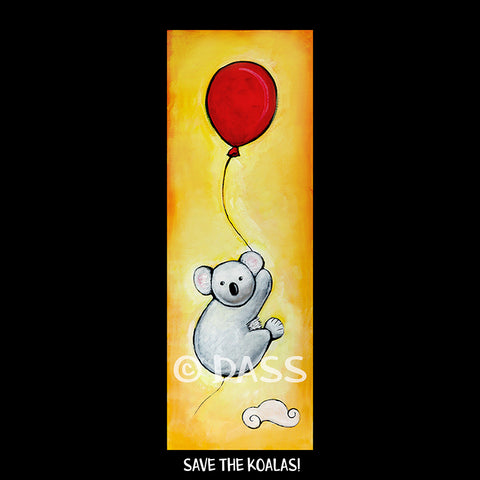 Australia Fundraiser Save the Koalas! - Colorful Animal, Aviation, whimsical, Airstream, Quotes Art Kids, Pediatrics, Happy Art