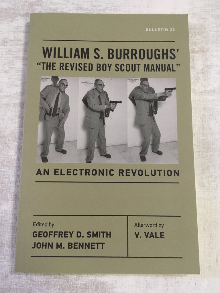 Book: William S. Burroughs' The Revised Boy Scout Manual