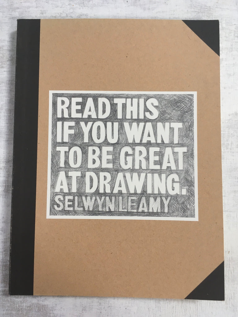 Book: Read This If You Want To Be Great At Drawing