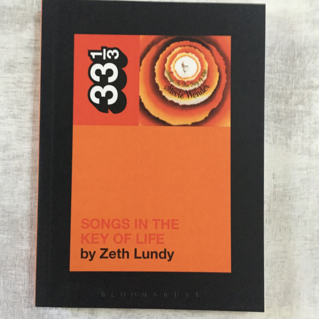 Book: 33 1/3 #042: Songs In The Key Of Life