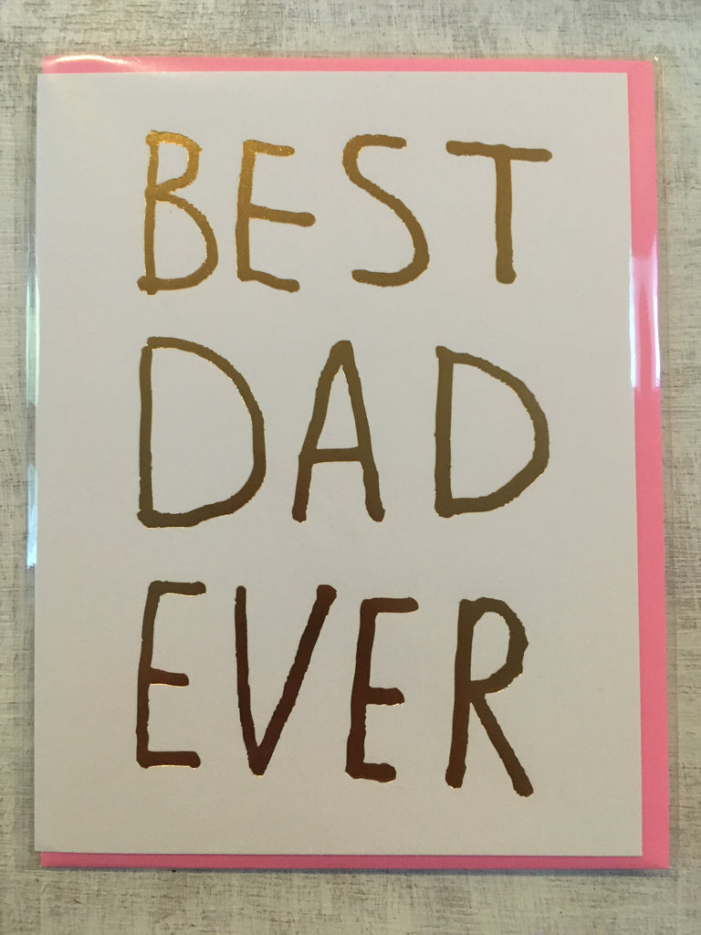 Card: Best Dad Ever
