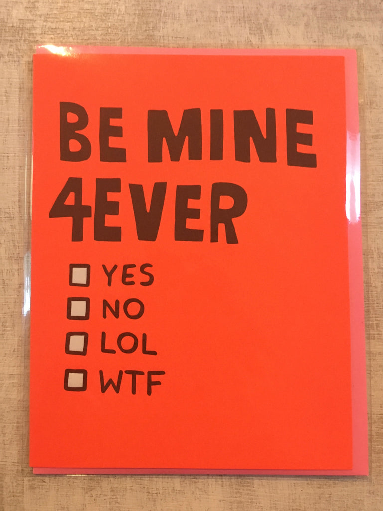 Card: Be Mine 4Ever