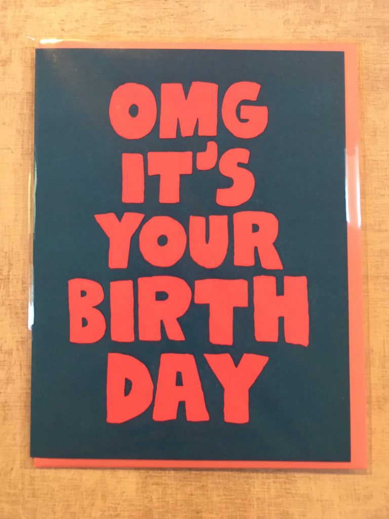 Card: OMG It's Your Birthday