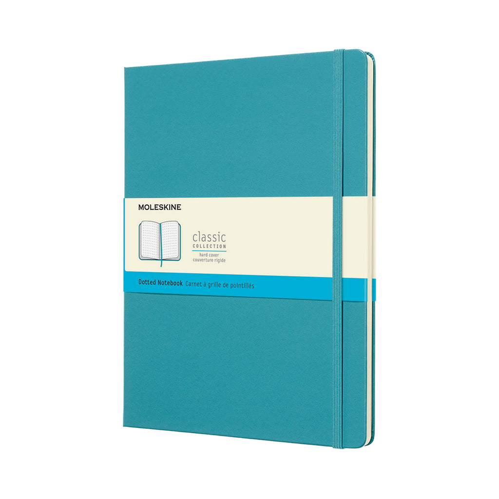 Moleskine Notebook: Classic Collection Hard Cover X-Large DOTTED (Various Colors)