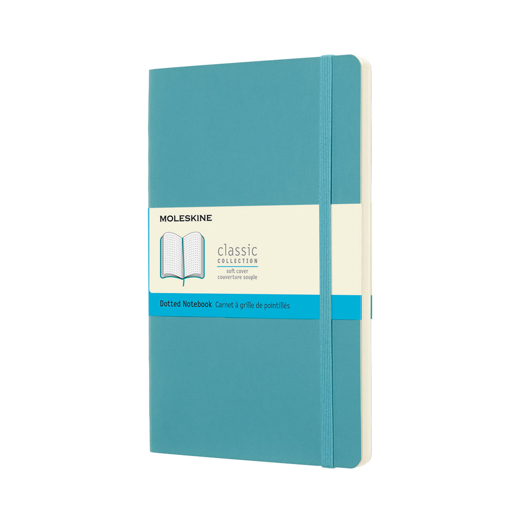 Moleskine Notebook: Classic Collection Soft Cover Large DOTTED (Various Colors)
