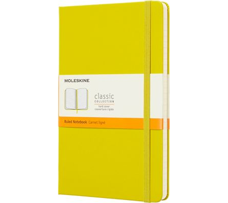 Moleskine Notebook: Classic Collection Hard Cover Large RULED (Various Colors)