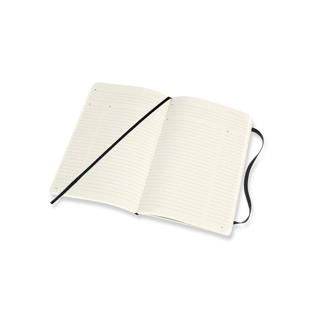 Moleskine Notebook: Pro Collection Soft Cover Large Professional Notebook (Various Colors)