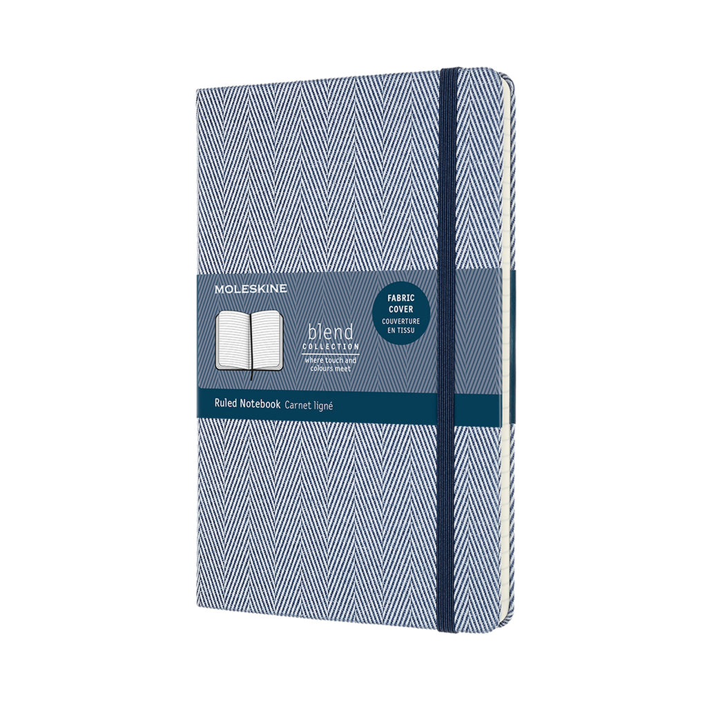 Moleskine Notebook: Blend Collection Hard Cover Large RULED (Various colors)