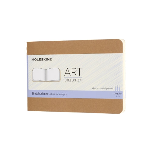 Moleskine Notebook: Art Collection Soft Cover Pocket Sketch Album (Various Colors)
