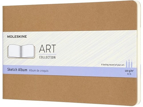 Moleskine Notebook: Art Collection Soft Cover Large Sketch Album (Various Colors)