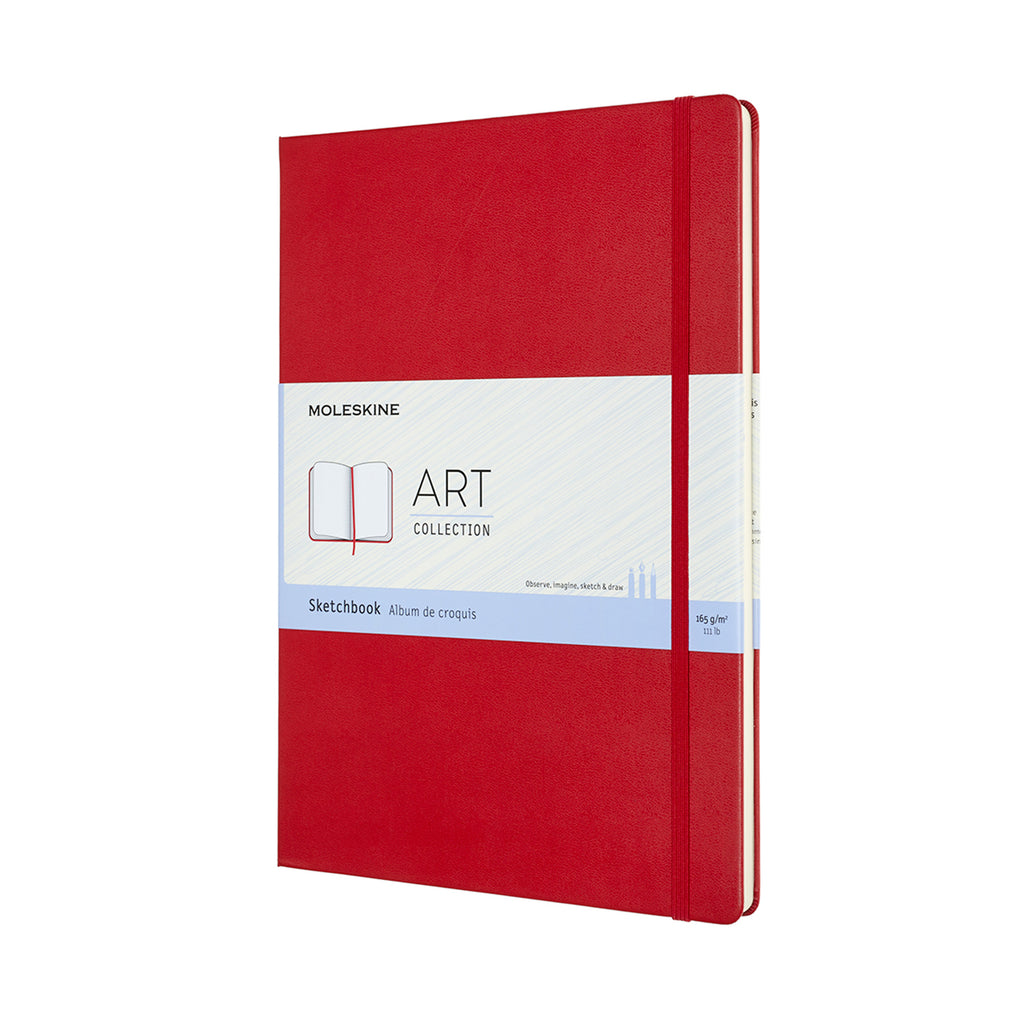Moleskine Notebook: Art Collection Hard Cover A4 Sketchbook (Various Colors)
