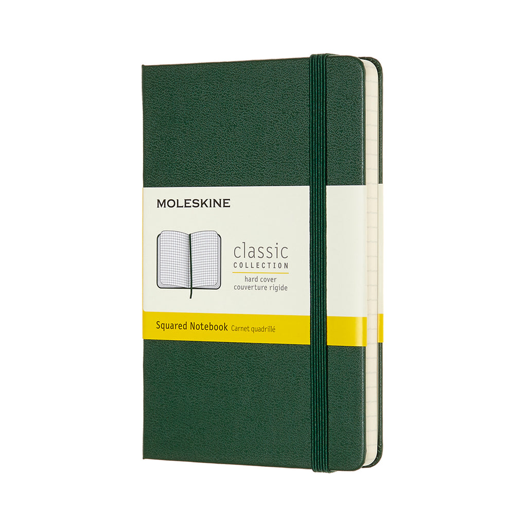 Moleskine Notebook: Classic Collection Hard Cover Large SQUARED (Various Colors)