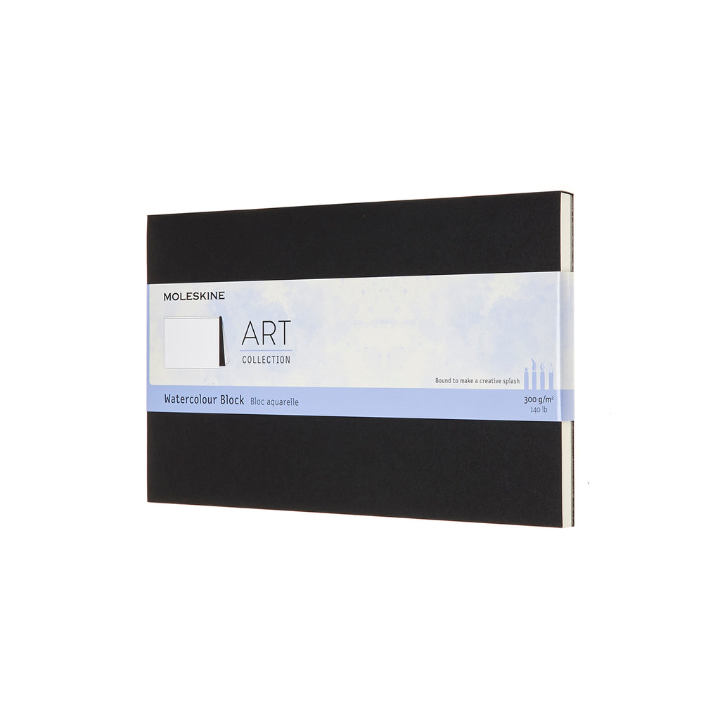 Moleskine Notebook: Art Collection Hard Cover Large Watercolor Block