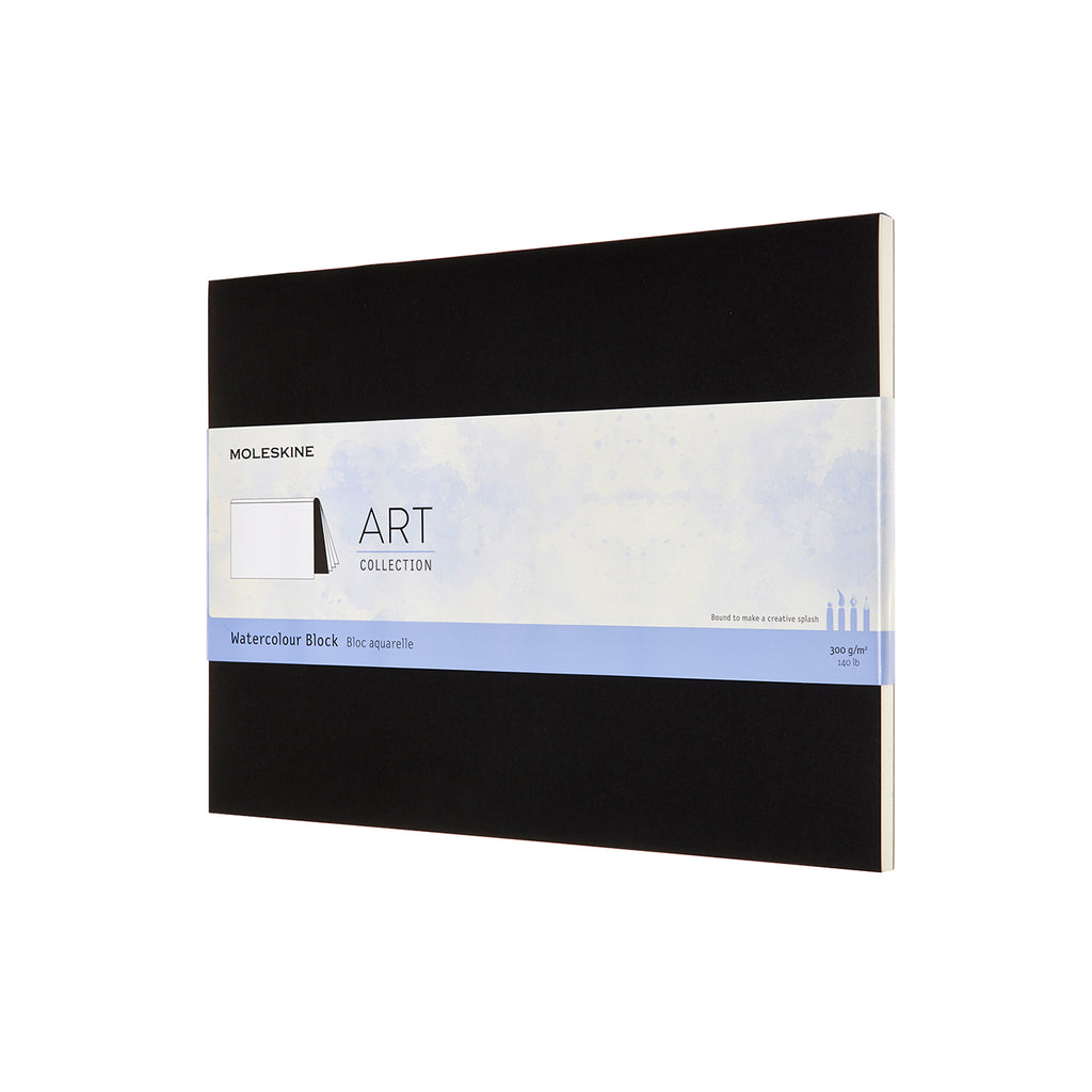 Moleskine Notebook: Art Collection Hard Cover XX-Large Watercolor Block