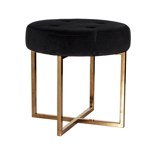 Brass Base Stool
