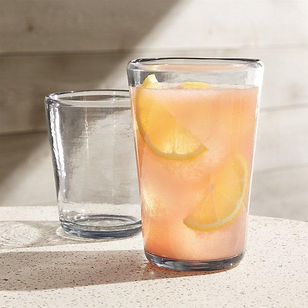 Vaso Grey Acrylic Drinking glasses