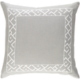 Embroidered Border Pillow