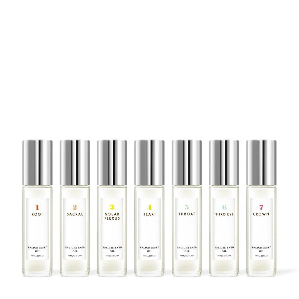 Chakra Roll-On Perfume Set
